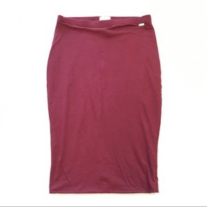 Guess stretch pencil skirt